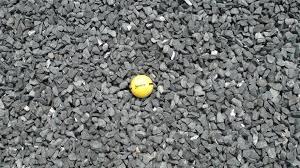 Decorative Quartz Rocks Texas Black Basalt Rock N Dirt Yard