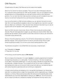 Cna Duties Resume Duties Resume Format Skills For Resume