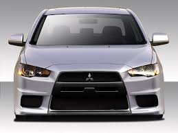 Amazon.com: 2008-2017 Mitsubishi Lancer Duraflex Evo X V3 Body Kit ...