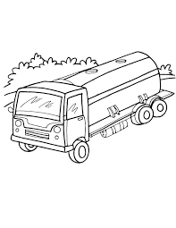 Small Picture Tanker truck on road coloring page Download Free Tanker truck on