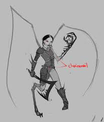 Aryana the Amblypygi whip spider girl WIPs Forums Cubebrush