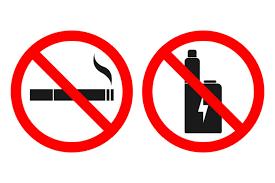 no smoking, no vaping