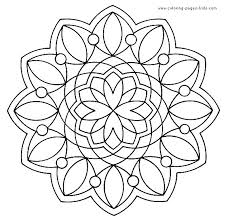 Small Picture 125 best MANDALAS images on Pinterest Coloring books Mandala