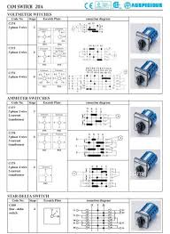 star delta switch taiwan rotary switches Rotary Switch Schematic star delta switch