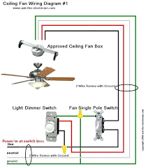 ceiling fan wiring diagram 1 connection wire colors dont match