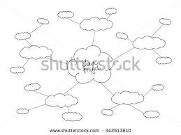 stock vector hand drawn black and white mindmap design 342613610 mindmap stock images, royalty free images & vectors shutterstock on process flow template word