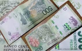 Resultado de imagen para dinero argentino falso