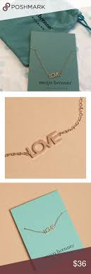 Maya Brenner Designs Love Bracelet In White Maya Brenner Design Love Bracelet Rose Gold New In Package