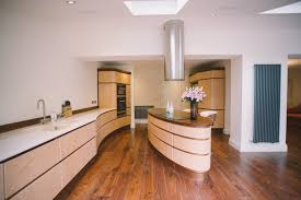 Rustic Beech Cabinets Kitchen Beautiful Kitchens And Baths Commercial Kitchen Rental