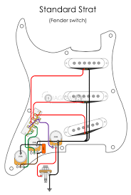 wire diagrams of electric guitars diagramart Wiring Diagram For Electric Guitars electric guitar wiring standard strat (fender switch) [electric circuit] wiring diagram for electric guitar pickups