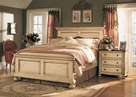 Bedroom Decorative Bedroom Set Antique White Creek Panels Sable