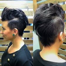 Mo Hock Hair Style hair by dilley female mohawk love this short daring style 6139 by stevesalt.us