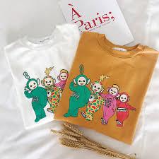 <b>Women</b> Ulzzang Kawaii T shirt <b>Korean</b> Style Clothes <b>Cute Cartoon</b> ...