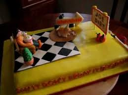 Joe Dirt Belated Birthday Cake For My Husband Youtube