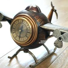 vintage desk clock free via vintage style desk table clocks alarm clock digital plane model