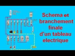Schéma Branchement Câblage Tableau Electrique Maison   YouTube