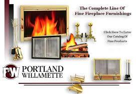portland willamette fireplace glass door monroe fireplace fireplace doors portland willamette