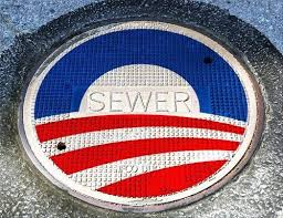 Image result for obama logo sewer cover