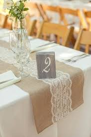 round table runner rustic elegant wedding at ranch lace table runners lace table and valley table
