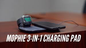 Mophie <b>3-in-1 Wireless</b> Charging Pad Review - YouTube