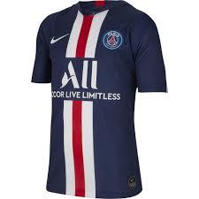 Nike Maglia Gara Home Paris Saint Germain Junior 19/20 Blu Negozio Online