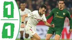 Siviglia - Athletic Bilbao 1-1 gol e highlights, gli ...