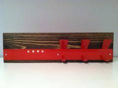 Coat Key Rack SKY BLUESTAINLESS rustic modern magnetic mail organizercoat key 58