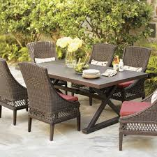 resin wicker outdoor dining furniture. nice wicker outdoor dining chairs patio furniture sets the home depot resin l