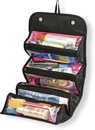 swarish roll n go cosmetic bag jewelery organizer black in india flipkart