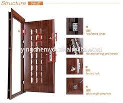 exterior security door. lastest design nigeria cheap exterior security door type