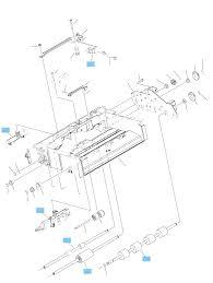 Envelope feeder internal ponents 1 of 2