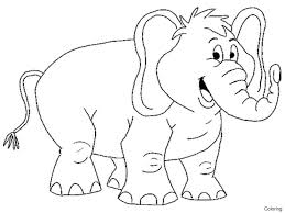 elephant coloring page elephants coloring pages free coloring pages coloring elephant