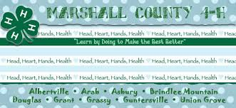 Marshall County Alabama 4-H Clubs