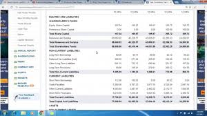 Profit And Lost Sheet Balance Sheet Profit Loss Statement