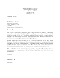 Letter Of Intent For Resume Internship Cover Format First Job To Bid