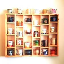 wall cup rack wall mount cup rack coffee cup rack wall mount coffee cup wall rack