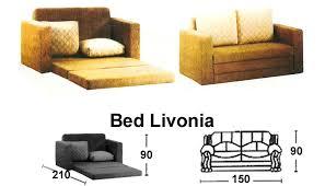 sofa lipat. sofa bed sentra type livonia lipat t