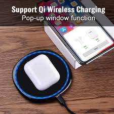 <b>i60 TWS</b> Pop up 1:1 Replica Separate Use Qi Wireless Charging ...