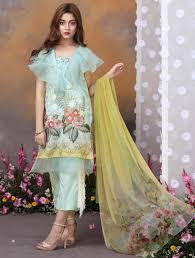 Unique Dress Design Pakistani Khas Luxury Eid Lawn Suits Designs Collection 2019 Dresses