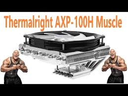 Видеообзор на <b>Кулер</b> для процессора <b>Thermalright AXP</b>-<b>100H</b> ...