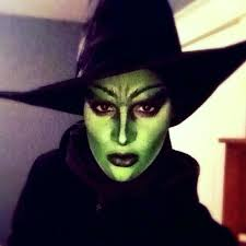 wicked witch drag makeup