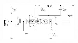 wireless microphone circuit diagram wiring diagram local