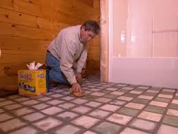 Re Tile Bathroom How To Tile A Master Bath Floor How Tos Diy