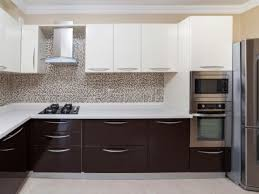 Kitchen Cabinets White And Brown HOME AND INTERIOR