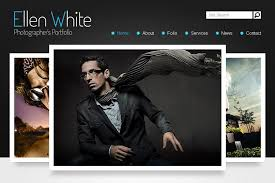 Free Photography Website Templates Classy Free Website Template Start Photographer's Portfolio MonsterPost