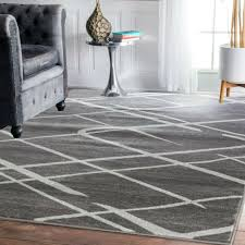 paramount diamond gray white area rug by elle home 7 8 x10 2 for