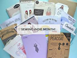 Indie Sewing Patterns Mesmerizing Tilly And The Buttons It's Sewing Indie Month