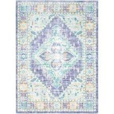 purple and gray throw rugs 8 x area the home depot bright artistic weavers compressed purple and grey rugs