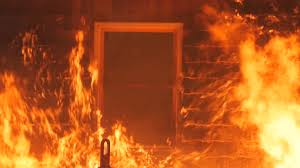 Image result for burning building gif