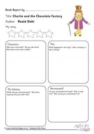 charlie and the chocolate factory resources charlie and the chocolate factory book report